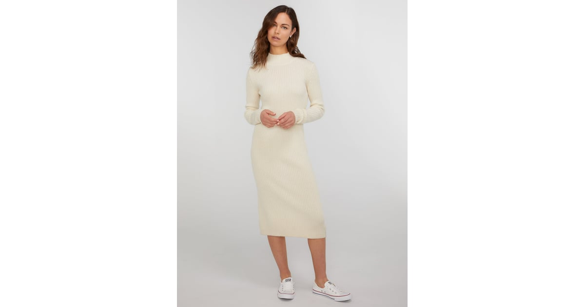 Turtle Neck Wedding Gowns: State Cashmere Long Sleeve Turtleneck Sweater Dress