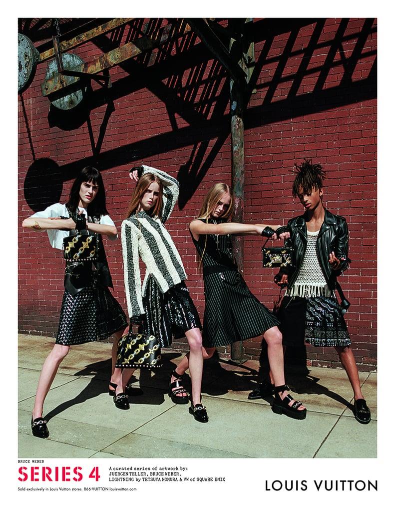 Jaden Smith Modeling For Louis Vuitton