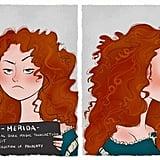 Merida's Mugshot