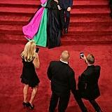 Kelly Ripa's Christian Siriano Dress at the 2018 Oscars