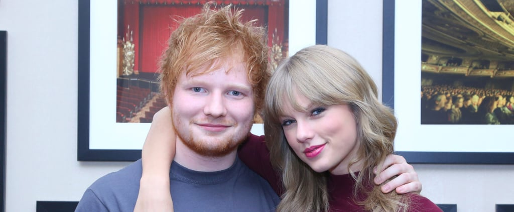 """Taylor Swift Calls Ed Sheeran a """"Tank"""" in a Moving Essay About His Career"""