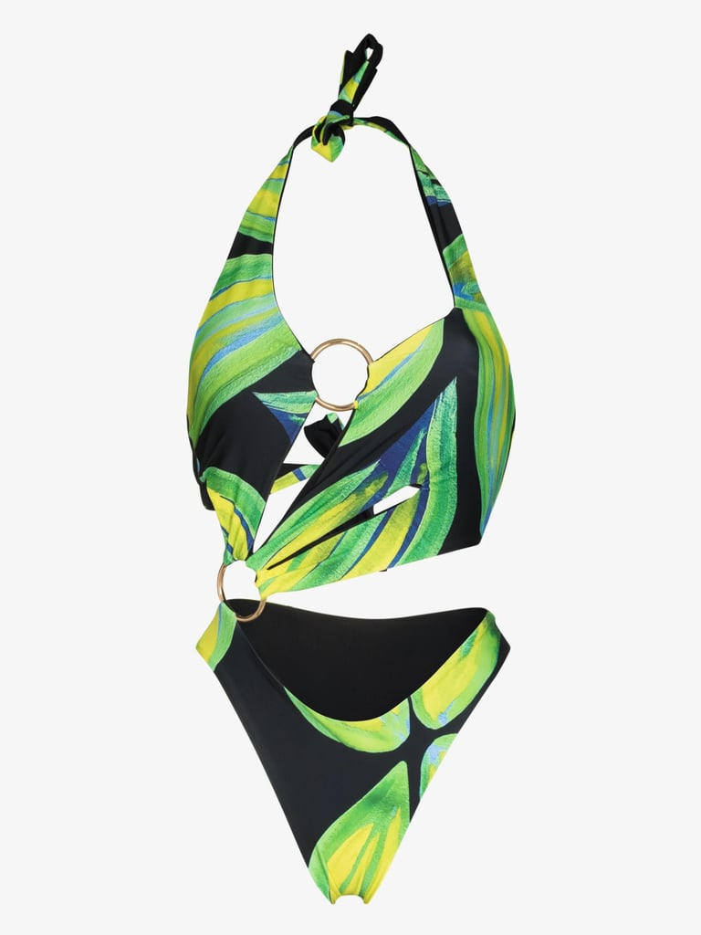 Louisa Ballou Sex Wax Cutout Halterneck Swimsuit