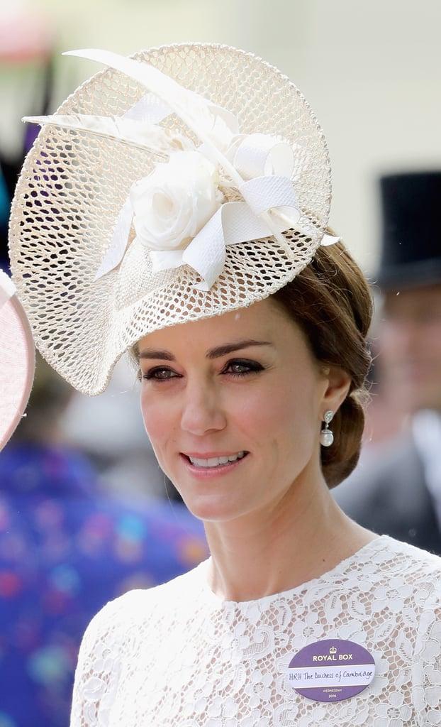 Kate Middleton Dolce and Gabbana Dress at Royal Ascot 2016