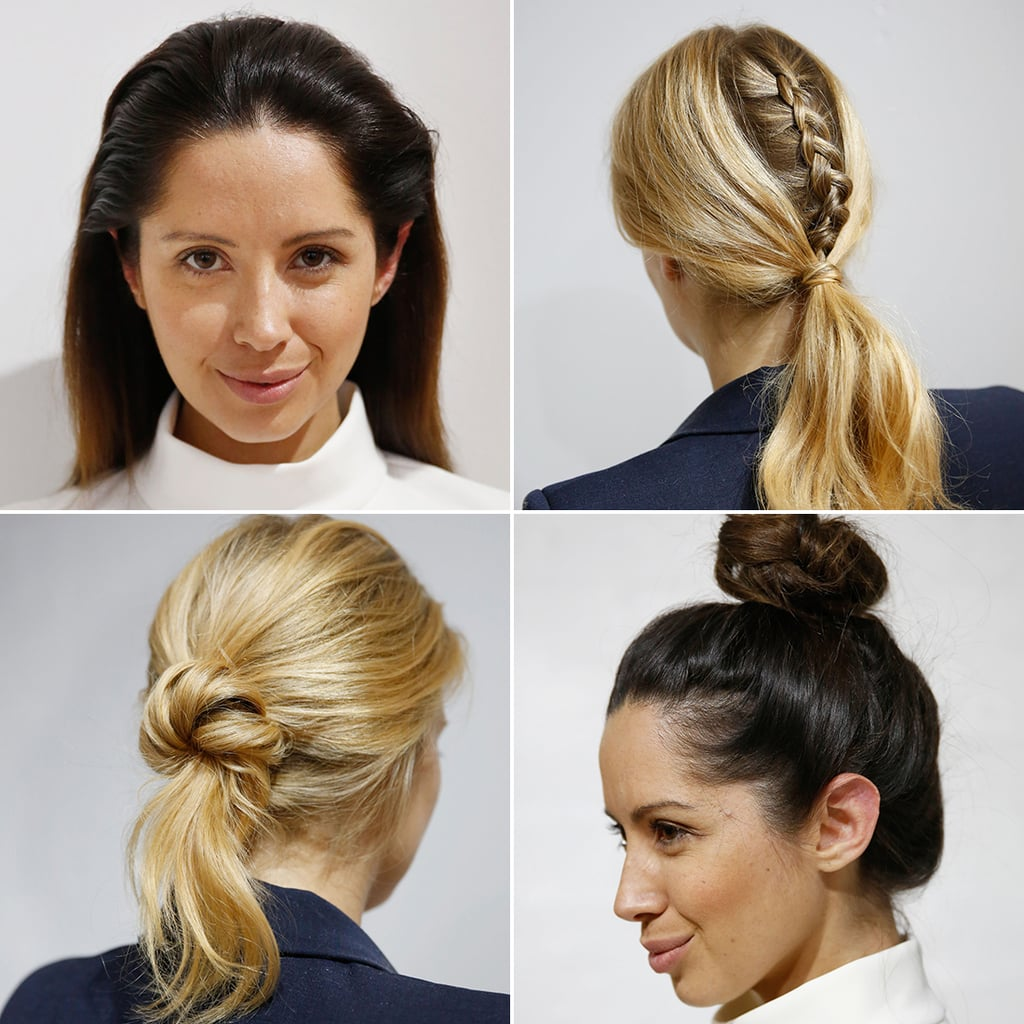 Quick Hairstyles For Work | POPSUGAR Beauty Australia