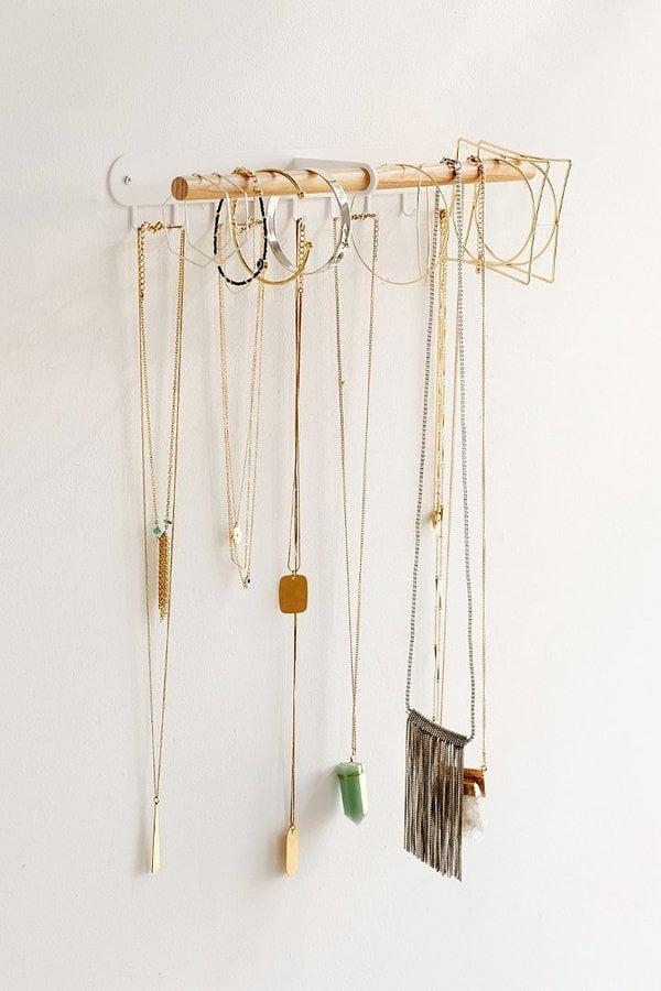 Minimal Hanging Jewelry Stand ($24)