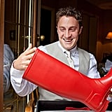 Rain Boots For the Groom