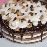 No-Bake S'mores Cake