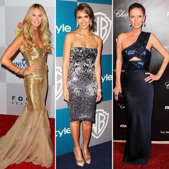 Golden Globes Afterparty Fashion 2012