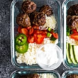 Low-Carb Meatball Burrito Bowls