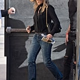 Jennifer Aniston's Trusted This Denim-and-Shoe Combination For Years — and Golly, It Works Wonders
