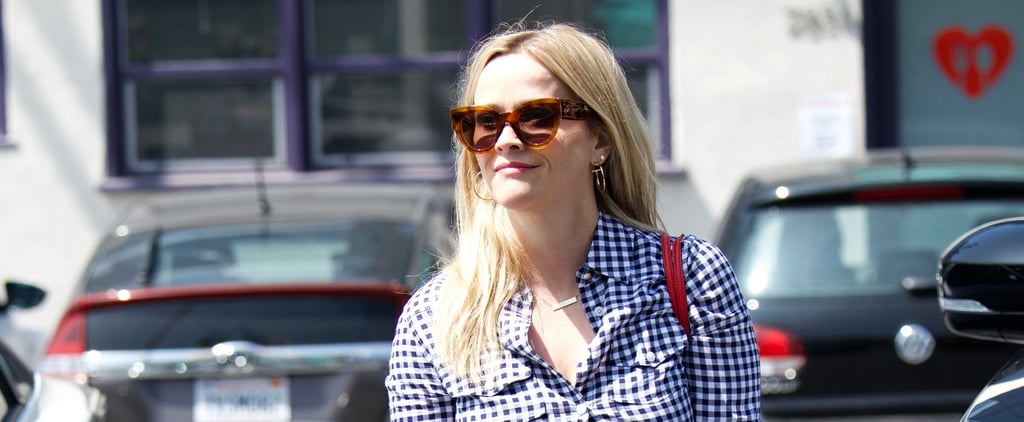 Reese Witherspoon Reese Red Valentino Bag