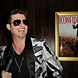 Robin Thicke was the man of the hour at Los Angeles Confidential  magazine, CBS Radio, and the Grammy Museum's event in LA.