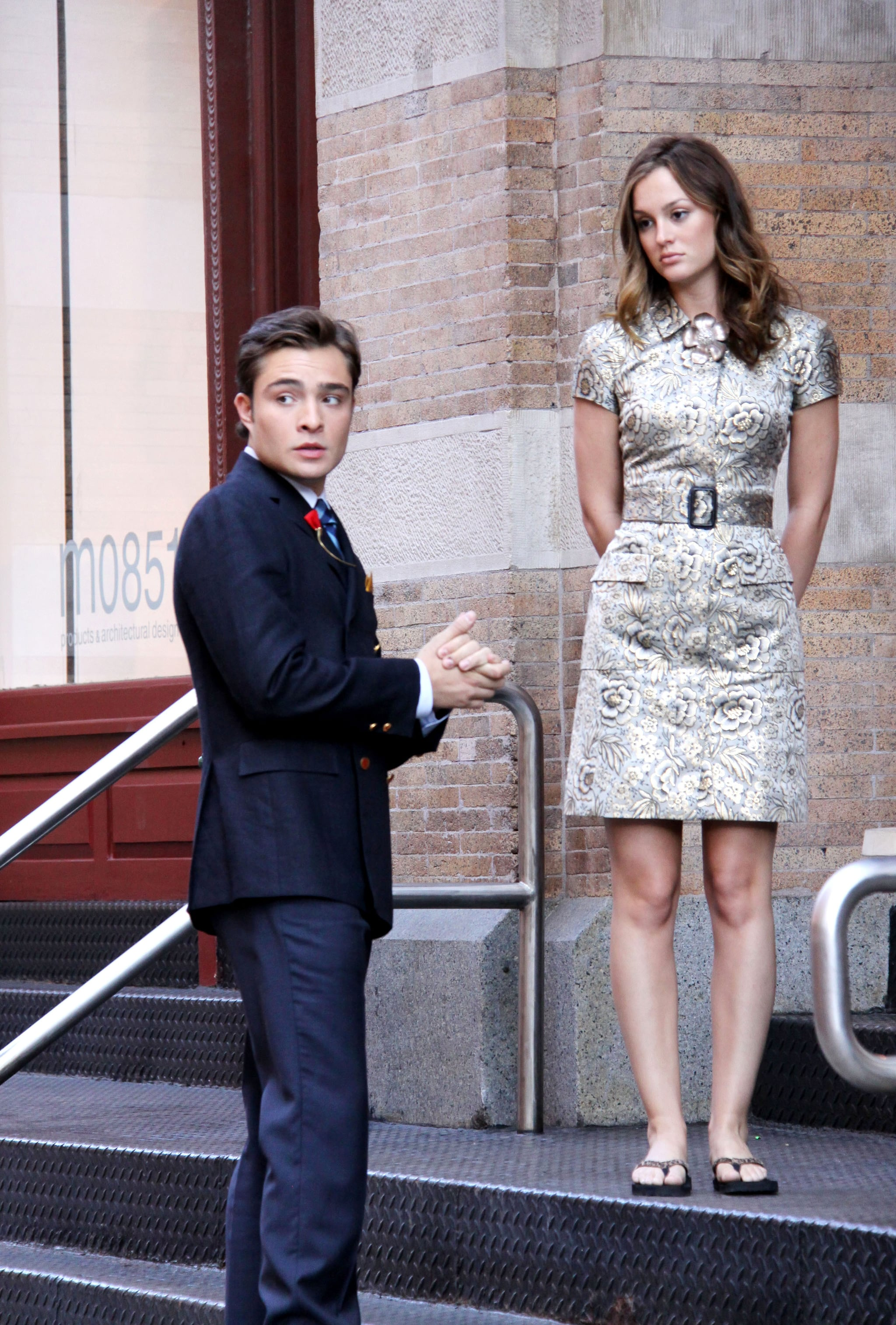 photos of ed westwick leighton meester and jessica szohr