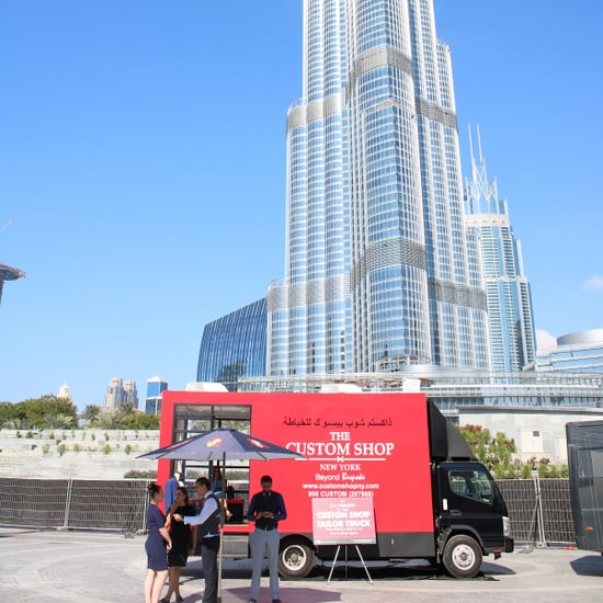 Custom Shop New York Tailor Truck Opens in Dubai