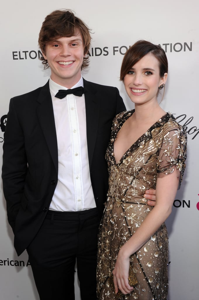 Emma Roberts and Evan Peters's Hollywood romance has created quite the buzz over the years. The two are known for costarring in American Horror Story together, but their relationship has faced just as much drama off screen. Since getting together back in 2012, the two have endured at least two breakups, a domestic violence incident, and a broken engagement. Even though they've had their fair share of ups and downs over the years, they certainly make a cute couple when they're together. Now that the two are officially back on, look back at their sweetest moments here.       Related:                                                                The Complete Timeline of Emma Roberts and Evan Peters's Turbulent Romance                                                                   27 Times You Couldn't Help but Surrender to Evan Peters' Hotness