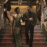 Nakia and T'Challa From Black Panther