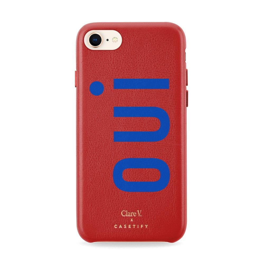 Casetify x Clare V. Leather iPhone Case