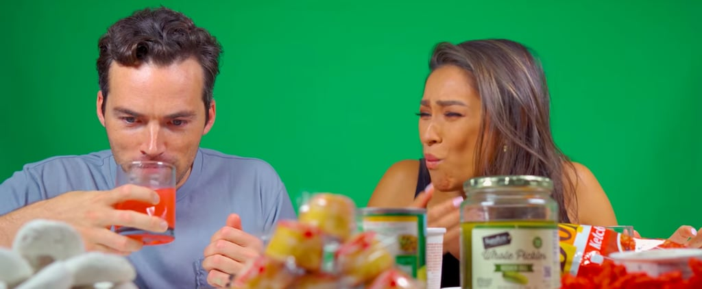 Shay Mitchell and Ian Harding Eating Pregnancy Craving Foods