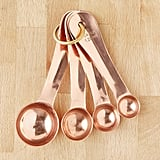 Urban Outfitters Copper Measuring Spoon Set
