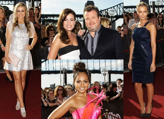 Lara Bingle, Carmen Electra, Sia, Angus and Julia Stone and Jessica Mauboy arrive at the 2010 ARIA Awards