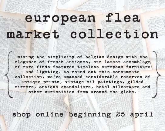 This Just In: Jayson Home & Garden European Flea Market Launches Online