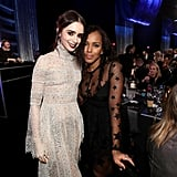 Pictured: Kerry Washington and Lily Collins