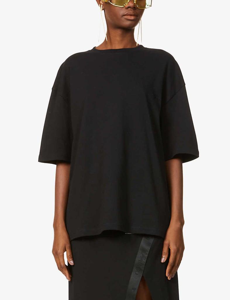 Fenty Graphic-Print Oversize Cotton-Jersey T-Shirt