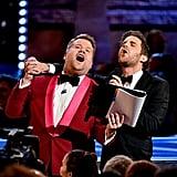 Ben Platt and James Corden Singing Annie at Tony Awards 2019