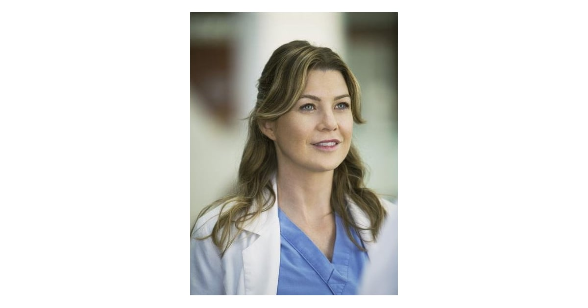 Ellen Pompeo As Meredith Grey In Greys Anatomy Tv Show Beauty