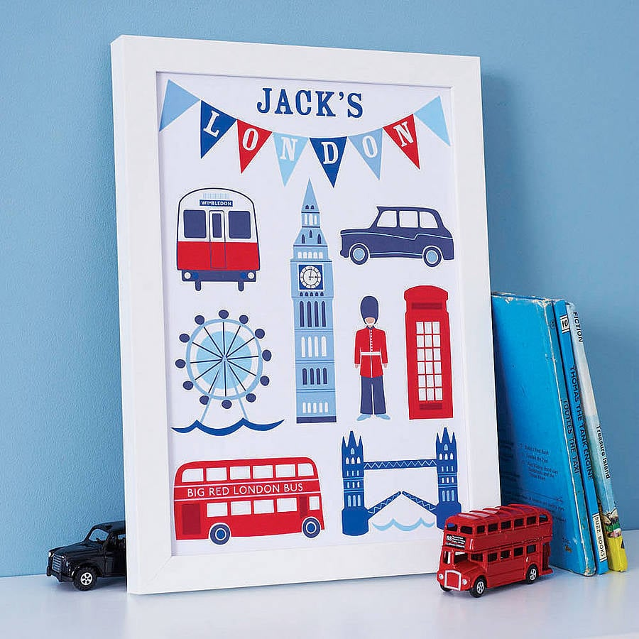 Sweet home londons personalized london prints 58 make a fun and personalized london prints negle Gallery