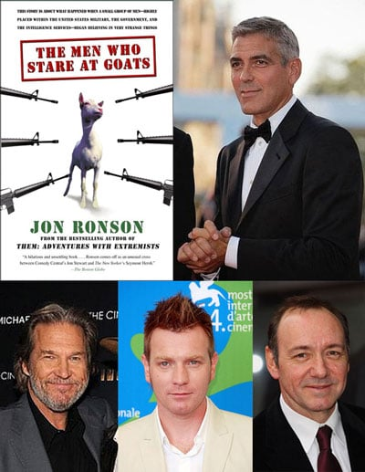 Clooney Assembles the Men Who Stare at Goats