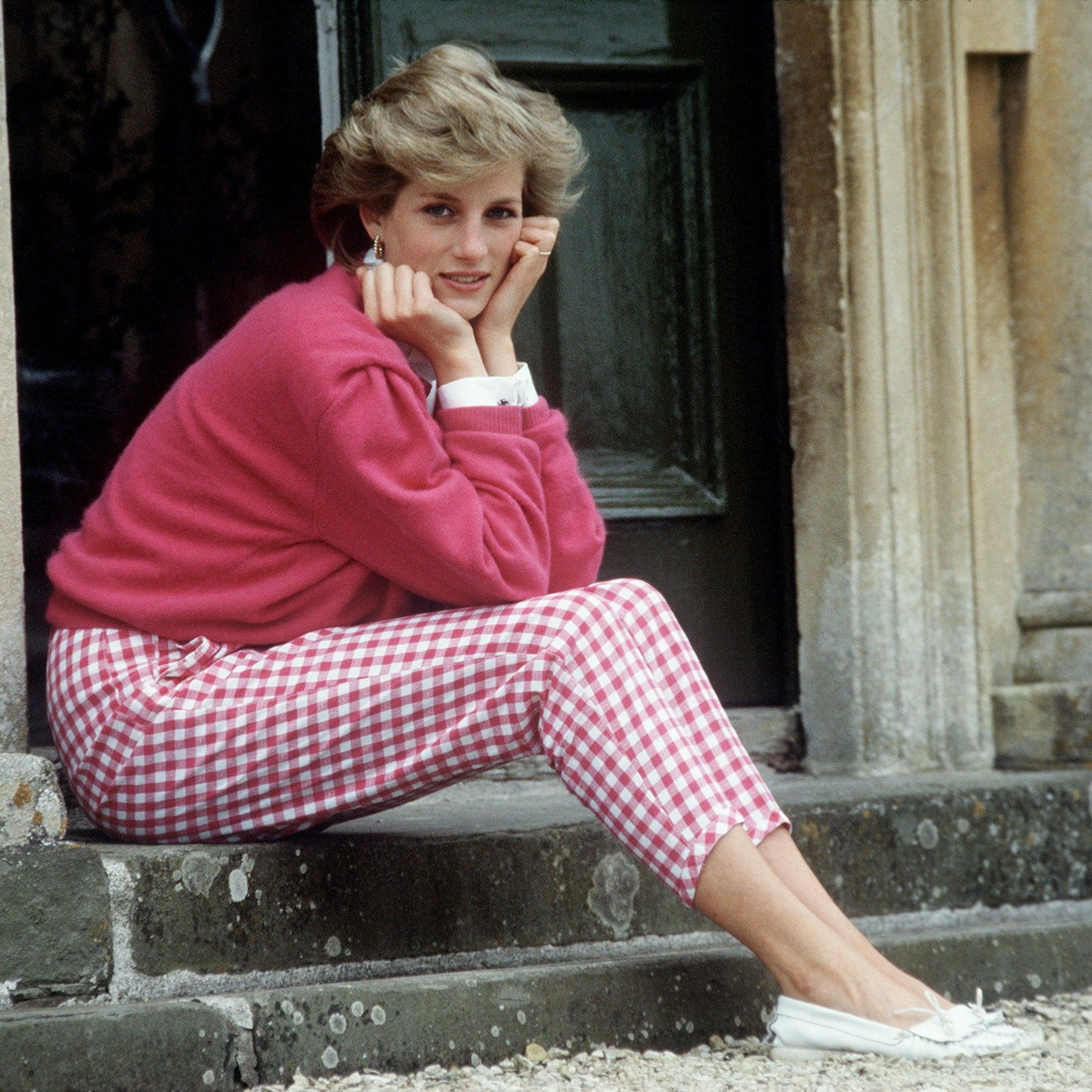 Princess Diana Style Popsugar Fashion