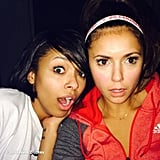 Nina Dobrev and her Vampire Diaries costar Kat Graham were shocked by a House of Cards season two big twist. Source: Instagram user ninadobrev