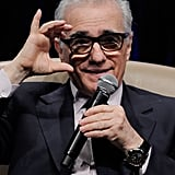 Martin Scorsese had a few words to say about Jeffrey Katzenberg at CinemaCon in Las Vegas.
