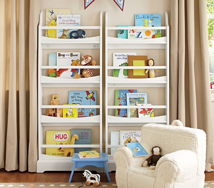 Madison Four Shelf Bookrack Book Storage For Kids For