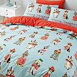 Catherine Lansfield Merry Woofmas Dog Christmas Duvet Set