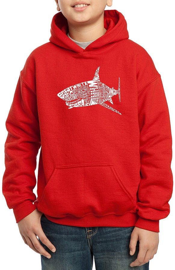 Pop Art Popular Species of Shark Hoodie