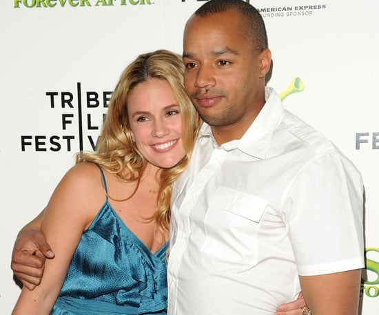 Slide Picture of Donald Faison and CaCee Cobb at the NYC Premiere of Shrek Forever After