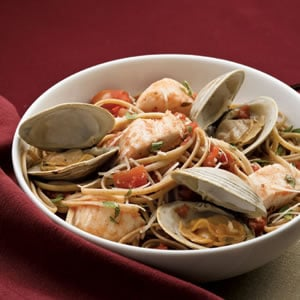 Fast & Easy Dinner: Seafood Linguine