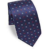 Eton Embroidered Silk Tie