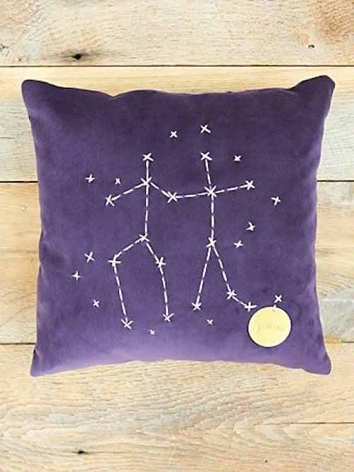 Gemini Star Sign Pillow ($98)
