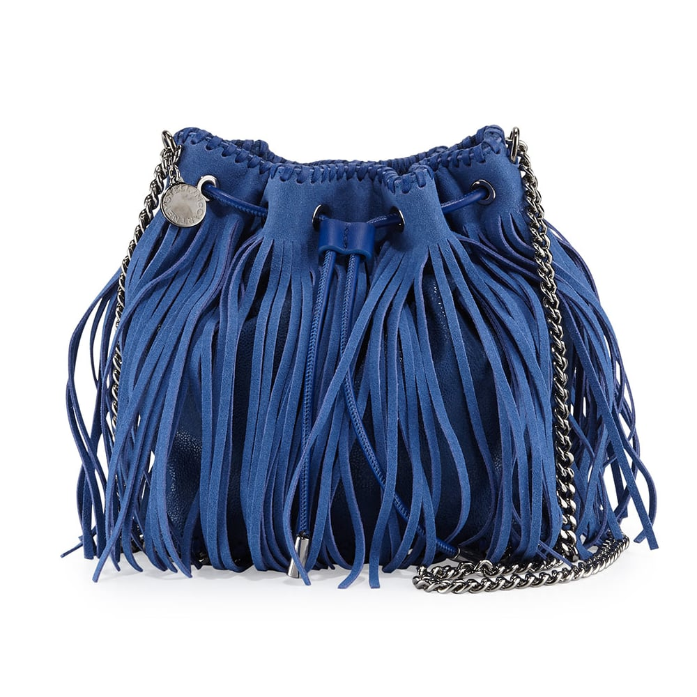 b2ae1ae23a Stella McCartney Falabella Small Fringe Bucket Bag