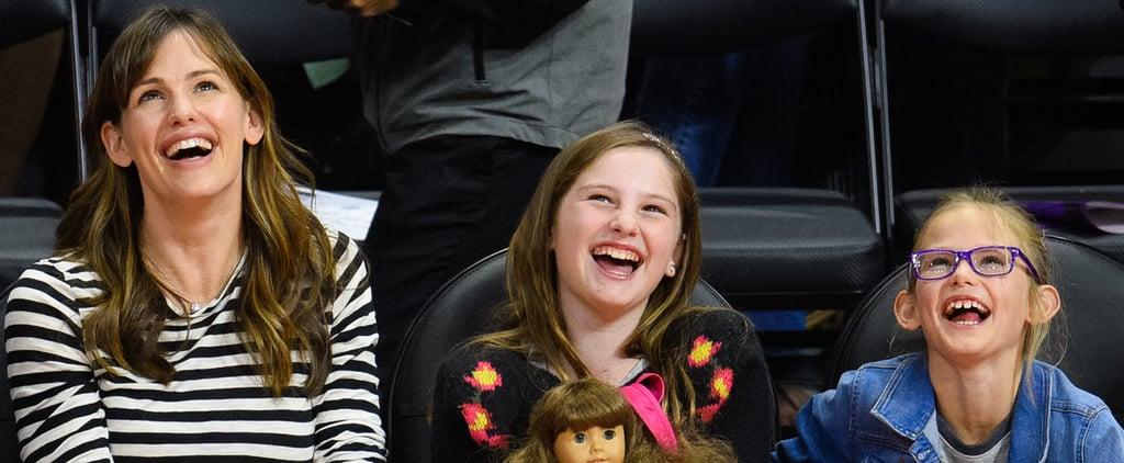 Jennifer Garner and Violet Affleck Have an Adorable Bonding Date