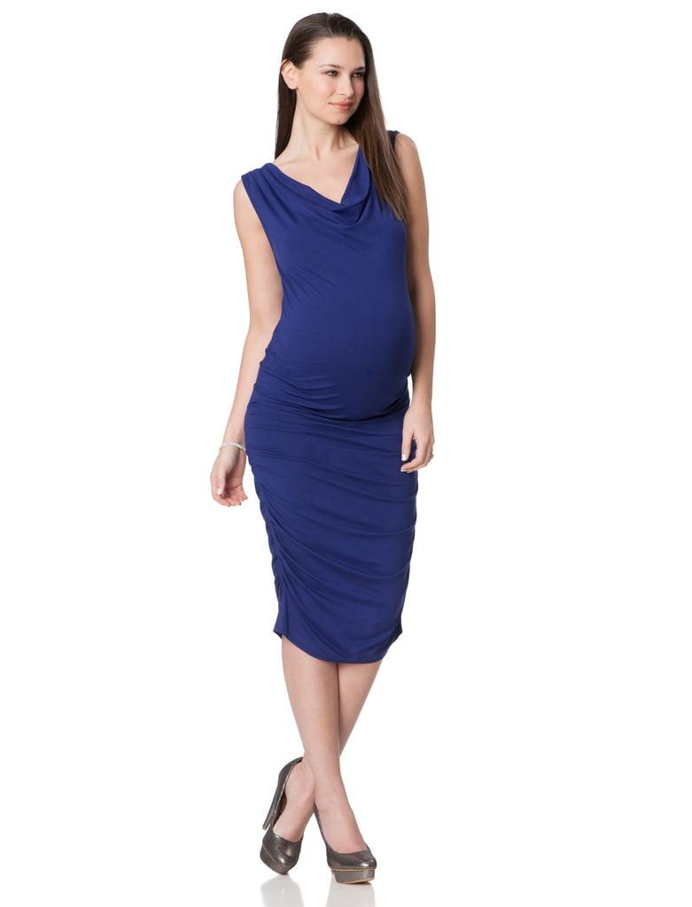 Séraphine Sleeveless Ruched Maternity Dress ($95)