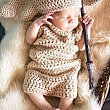 Newborn Inspired Dobby Outfit