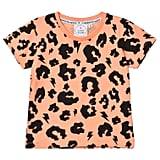 AlexandAlexa Scamp & Dude Orange Leopard Print Tee