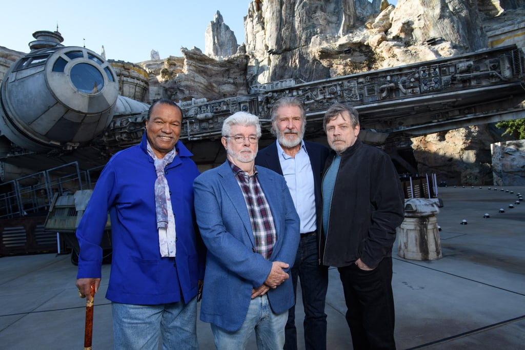 Luke, Han, and Lando Had a Sweet Star Wars Reunion at Disneyland