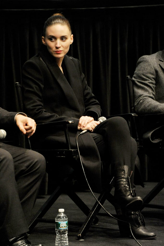 Jude Law and Rooney Mara Couple Up For a Side Effects Screening