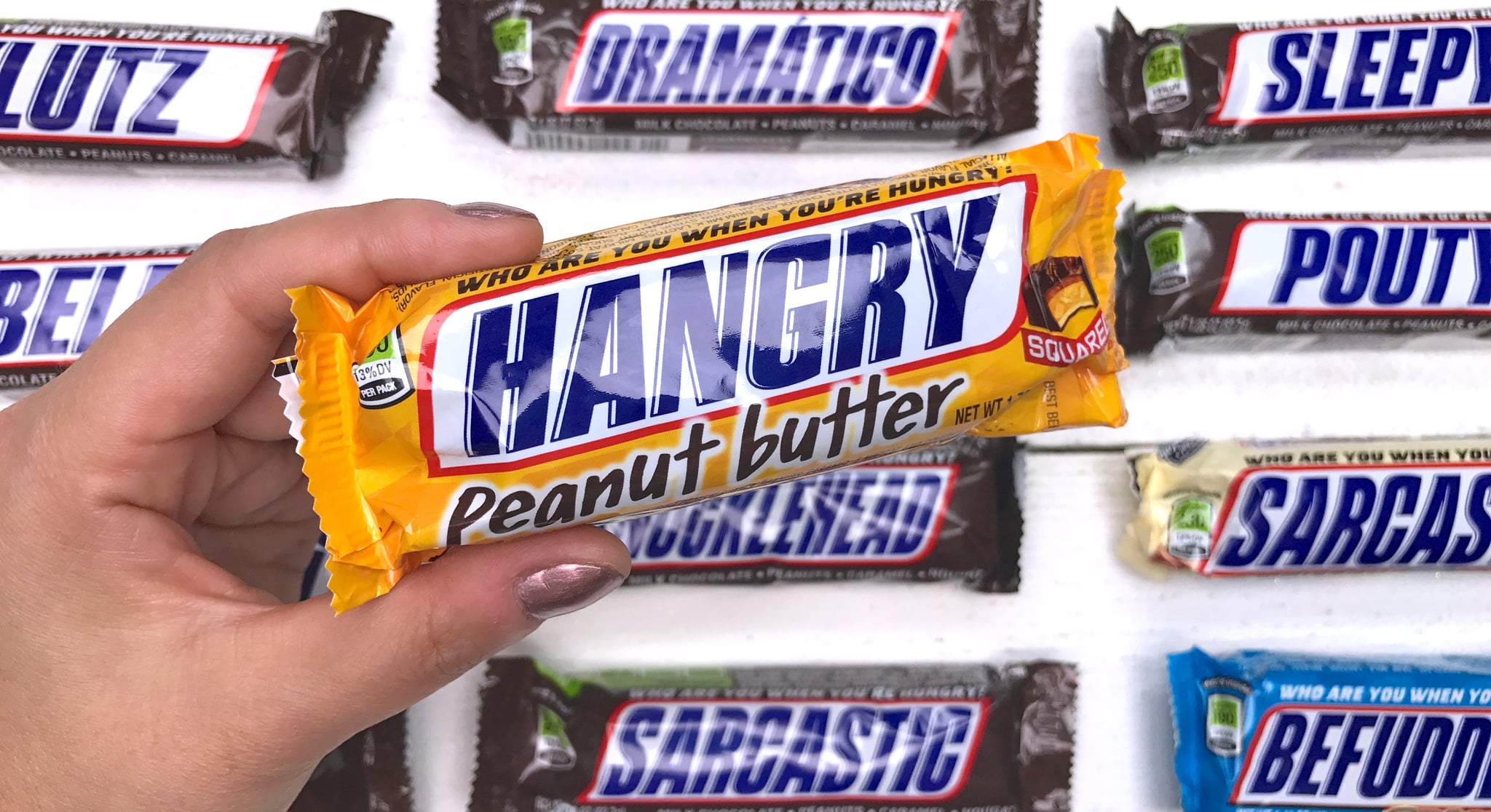 New Snarky Snickers Captions Capture Every Feeling Popsugar Food