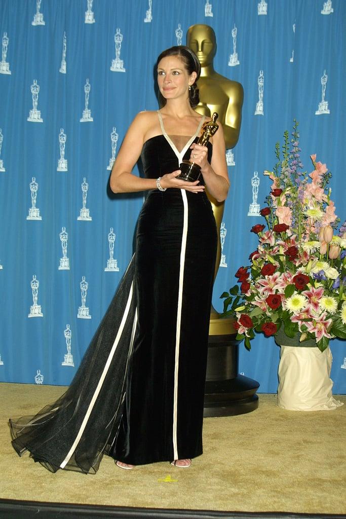 Julia Roberts at the 2001 Academy Awards